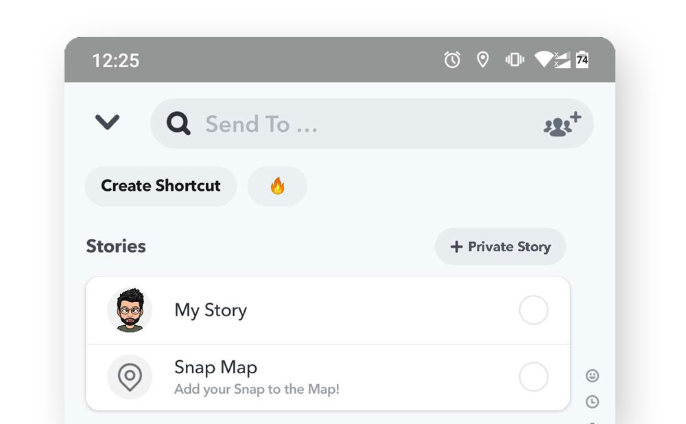 What is Snapchat Shortcut