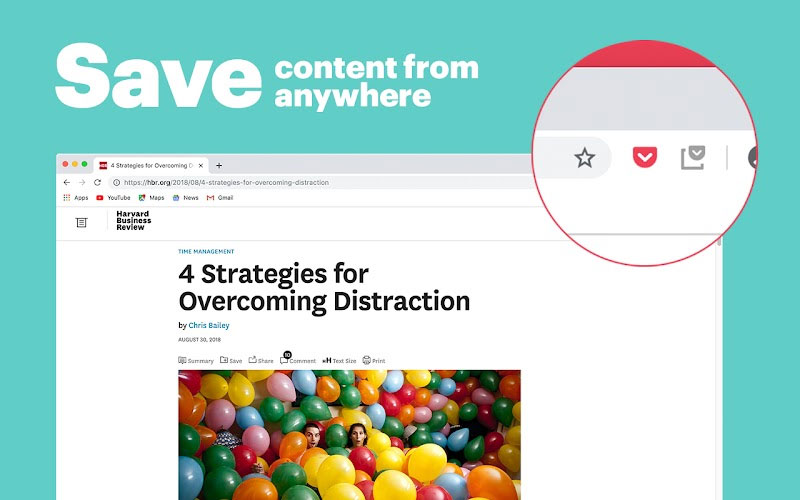 Save To Pocket - Best Productivity Chrome Extension