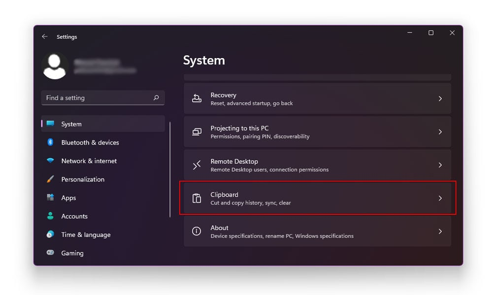 How To Clear Your Windows 11 Clipboard History Using Settings